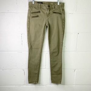 J. Crew toothpick ankle skinny jeans